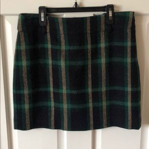 Ralph Lauren Plaid Mini Skirt